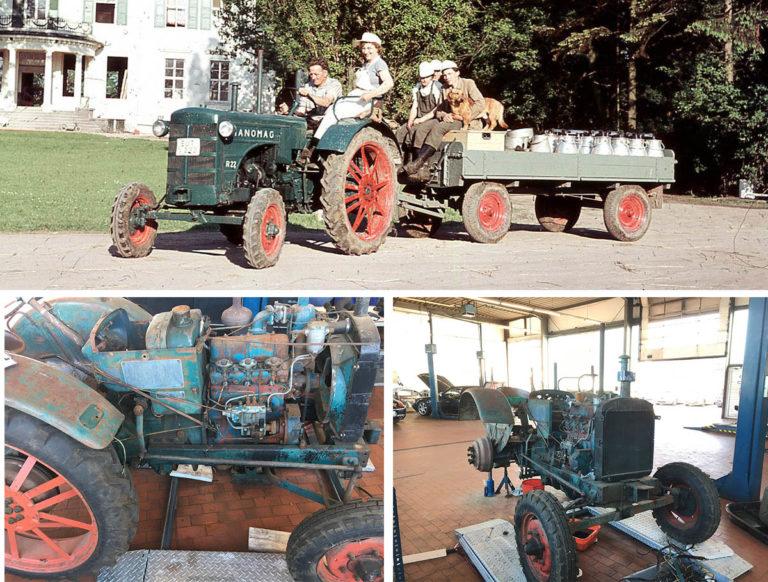 Darstellung von 3 Fotos eines Hanomag R 22