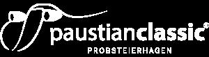 Paustian Classic Logo in weiß