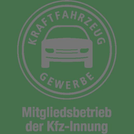 Logo der KFZ-Innung in grau